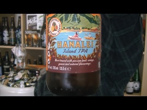 Kona Brewing Company - Hanalei (Passion Fruit, Orange, Guava IPA) - HopZine  Beer Review