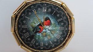 Часы из конфет, МК как сделать новогодние часы из конфет