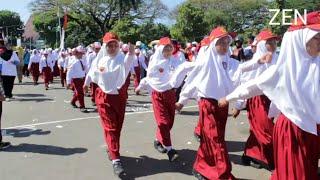Gerak Jalan Pamekasan,SD-SMP 2017