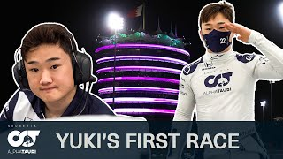 ALL ACCESS | Yuki Tsunoda's First F1 Race