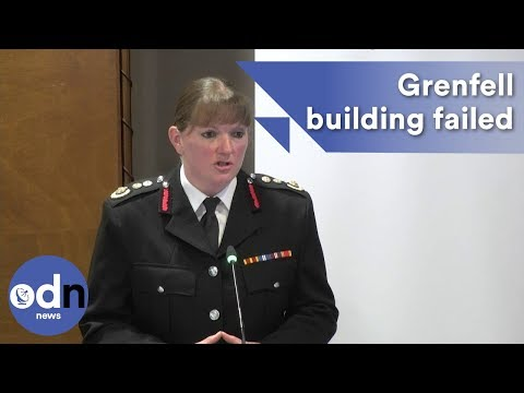 Grenfell Inquiry: London Fire Brigade said the building failed