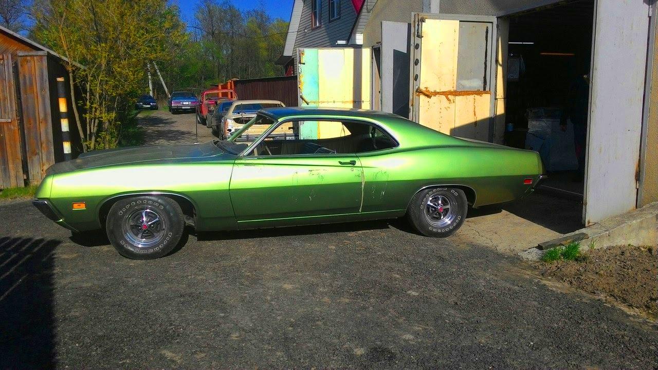 1970 ford fairlane 500 4 speed