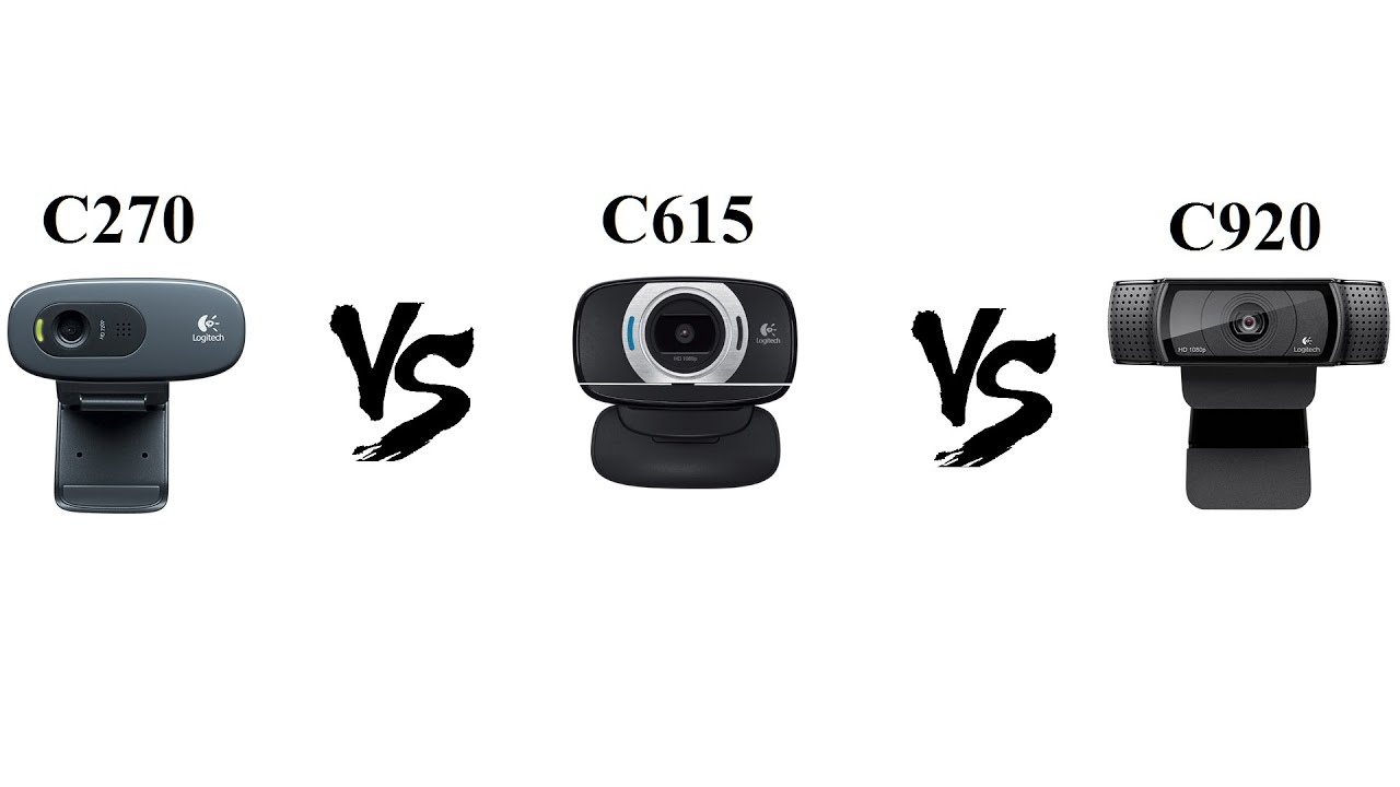 Logitech c270 vs c920 webcam