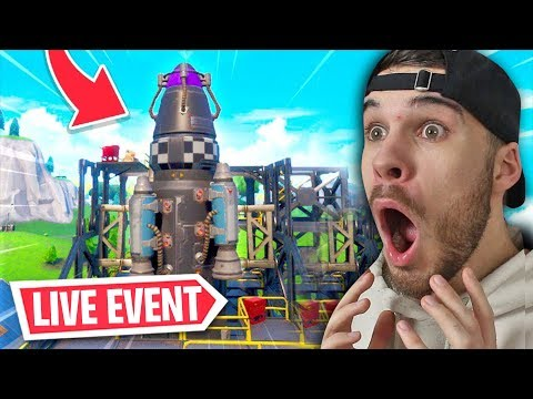 Die DUSTY DEPOT *RAKETE* STARTET bald.... | Fortnite Battle Royale Live