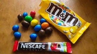 Обзор на конфеты  M&M's С КОФЕ nescafe classic