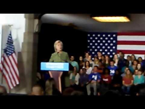 Hillary Clinton at Temple University
