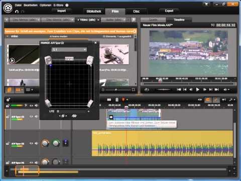 Stereo und Surround 2 in Avid studio und Pinnacle Studio