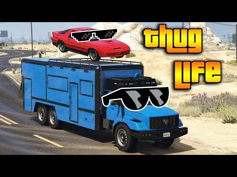 GTA 5 ONLINE : THUG LIFE AND FUNNY MOMENTS (WINS, STUNTS AND FAILS #127)