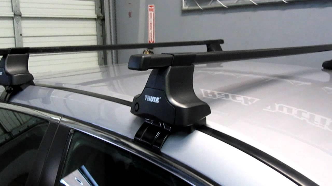 Honda Accord Sedan with Thule 480 Traverse Base Roof Rack ...
