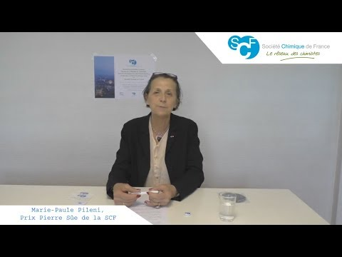 Marie-Paule Pileni, Prix Pierre Süe de la SCF