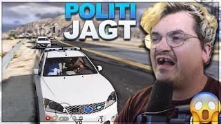 Vildeste Politijagt!   Dansk GTA RP