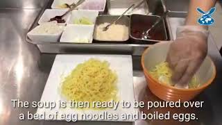 How Myanmarese style Khao Suey is made