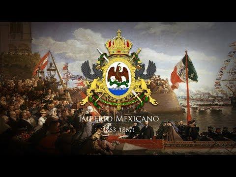 "Second Mexican Empire (1863–1867) National Anthem ""Himno Nacional Mexicano"""