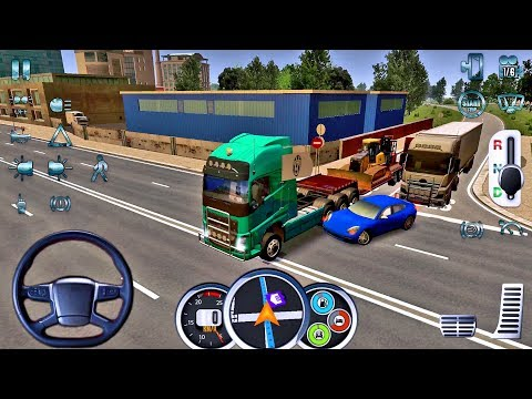 Euro Truck Driver 2018 #16 - New Truck Game Android gameplay #truckgames