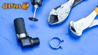 Diy: Removing Ear Crimp Hose Clamps