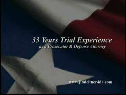 Harris County, Texas District Attorney Candidate Jim Leitner