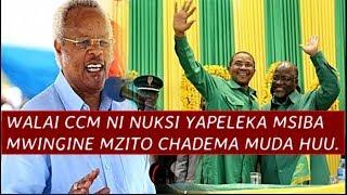 WALAI CCM ni Kiboko, Yapeleka Msiba mzito CHADEMA muda huu, Yafanya maamuzi Magumu ya Kutisha