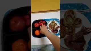 ASMR | 만두랑 오징어구이와 과일종류 먹방 Dump…