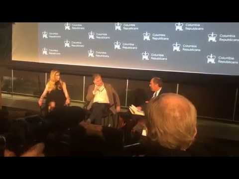 Ann Coulter vs Mickey Kaus Immigration Debate: 2018 Columbia University