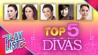 【รวมเพลง】ฮิต Top 5 Divas   แพ้ใจ, ครึ่งหนึ่งของชีวิต, เธอไม่เคยถาม