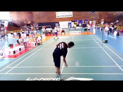 Balkan Badminton Championships Iasi 2016 - Individual  sesiunea II