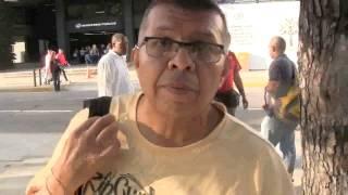 Frente a la Fiscalía General, Tony Navas, aporrea tvi, abril 2017