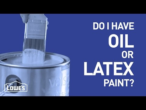 Do I Have Oil or Latex Paint? | DIY Basics