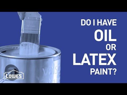 Do I Have Oil or Latex Paint? | DIY Basics