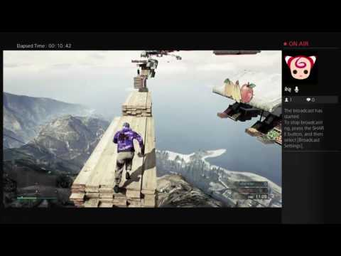 Gta 5 online playing fresh parkour