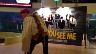 Now You See Me Singapore Movie Premiere (3th June 2013) - Preshow by
