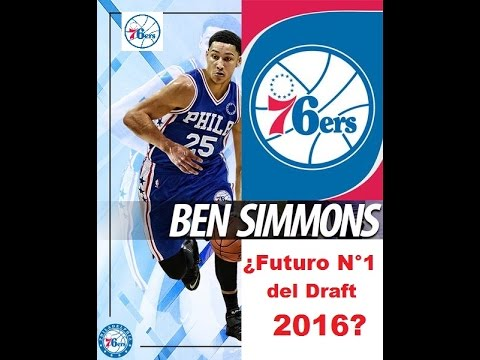 Los Sixers se quedan con Ben Simmons   N° 1 pick of the 2016 lotery NBA Draft
