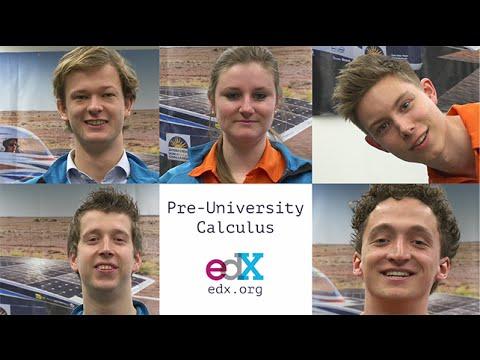 TU Delft - MOOC Pre-university Calculus: Review your high school mathematics