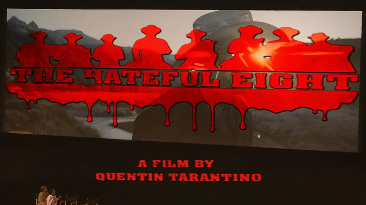 The hateful eight release date in Sydney