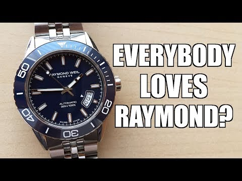 Surprisingly Great! Raymond Weil Freelancer Diver Automatic 2760 Review - Perth WAtch #243