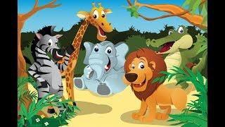 Животные Африки Знакомимся Развивающий Мультик Для Детей