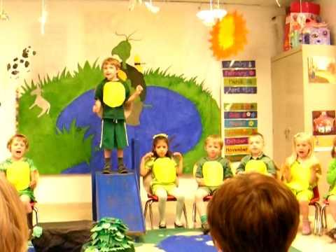 Fox Hill Preschool Yertle the Turtle Play