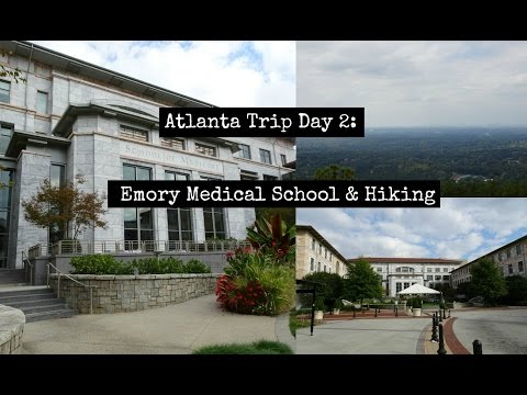 Atlanta Trip Day 2: Emory Medical School & Stone Mountain