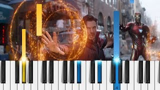 Download Marvel's Avengers: Infinity War - Super Bowl Spot - EASY Piano Tutorial MP3 song and Music Video