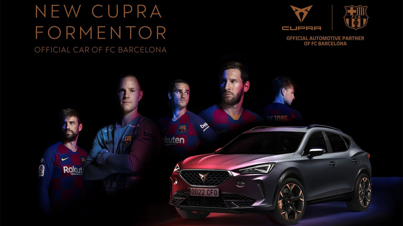 Cupra Formentor Becomes The First-Ever Official Car Of FC Barcelona