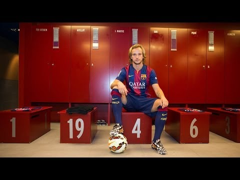 BEHIND THE SCENES - Rakitic's presentation
