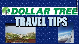 Travel tips & hacks ~Dollar Tree Edition