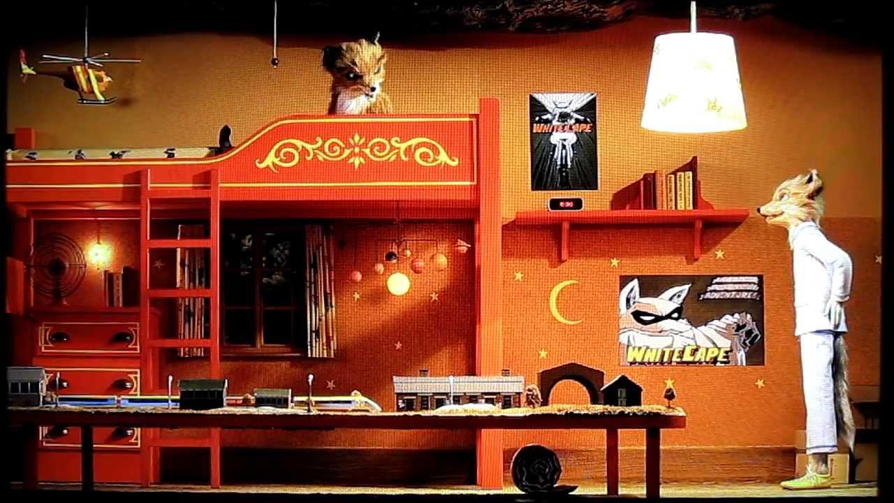 Fantastic Mr Fox Bedroom Scene Ash And Kristofferson