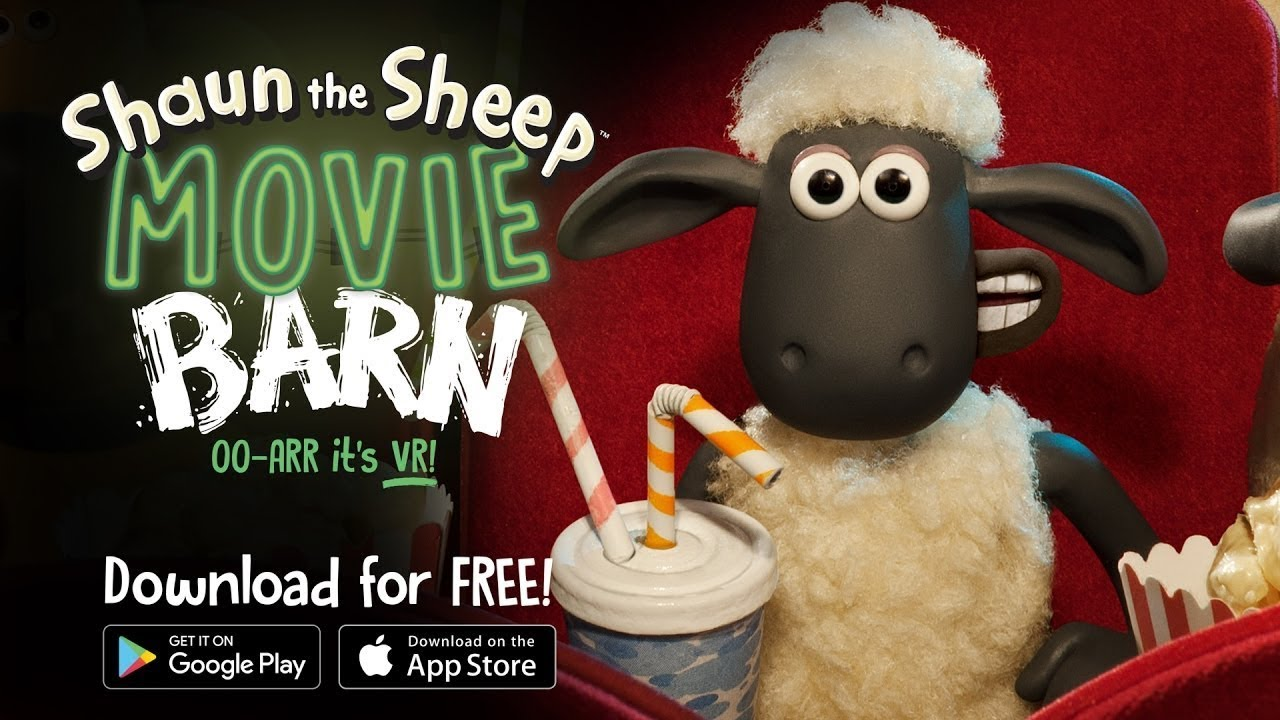 Movie Barn - Shaun the Sheeps Virtual Reality App!