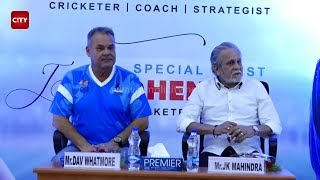 Exclusive: Watch Dav Whatmore talk about the Indian cricket team