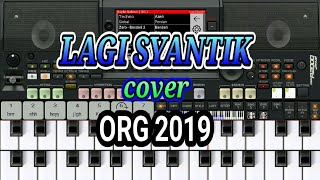 Mantap!!! Lagi Syantik versi Dangdut cover ORG 2019 (tutorial piano keyboard)