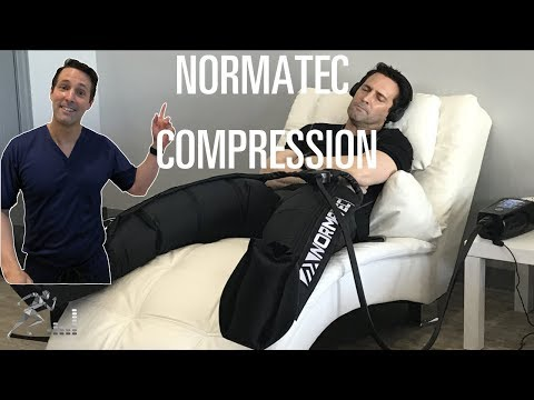 Normatec compression for muscle recovery