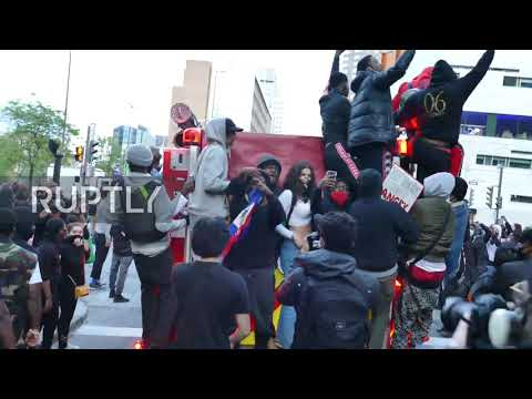 Canada: Montreal disintegrates into mayhem as anti-racism protests unravel
