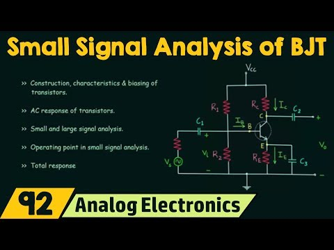 Small Signal Analysis of BJT