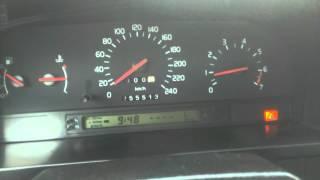 Моментальный расход топлива на Volvo 850 2.5/170 л/с