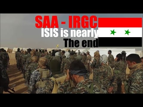 Syria War Report - SAA - IRGC prepared to attack Al-Bukamal ,The end of ISIS is nearly